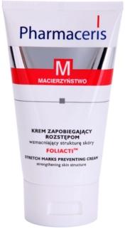 Pharmaceris M-Maternity Foliacti крем для тіла для попередження появи розтяжок