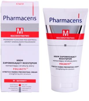 Pharmaceris M-Maternity Foliacti Körpercreme zur Vorbeugung gegen Schwangerschaftsstreifen