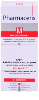 Pharmaceris M-Maternity Foliacti crema corporal para prevenir las estrías