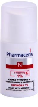 Pharmaceris N-Neocapillaries Capinion K 1% posilující krém na popraskané žilky pro urychlení regenerace