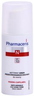 Pharmaceris N-Neocapillaries Magni-Capilaril crema nutritiva antiarrugas  SPF 10