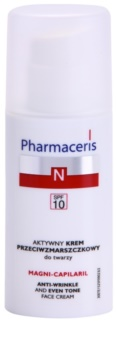 Pharmaceris N-Neocapillaries Magni-Capilaril hranilna krema proti gubam SPF 10