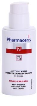 Pharmaceris N-Neocapillaries Magni-Capilaril výživný protivráskový krém SPF 10