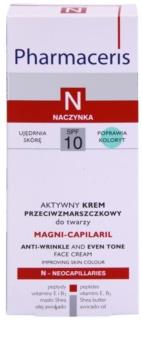 Pharmaceris N-Neocapillaries Magni-Capilaril nährende Anti-Falten Creme SPF 10
