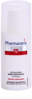 Pharmaceris N-Neocapillaries Nutri-Capilaril hranilna pomirjajoča krema za občutljivo kožo, nagnjeno k rdečici z karitejevim maslom