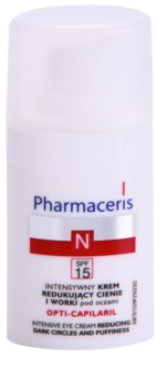 Pharmaceris N-Neocapillaries Opti-Capilaril Anti-Aging Augencreme gegen Schwellungen und Augenringe