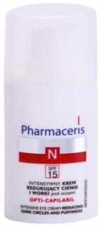 Pharmaceris N-Neocapillaries Opti-Capilaril crème rajeunissante yeux anti-poches et anti-cernes
