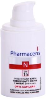 Pharmaceris N-Neocapillaries Opti-Capilaril pomlajevalna krema za predel okoli oči proti oteklinam in temnim kolobarjem