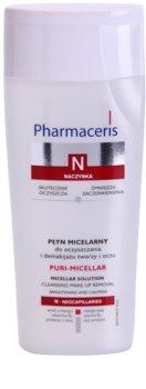 Pharmaceris N-Neocapillaries Puri-Micellar lozione micellare detergente per pelli sensibili