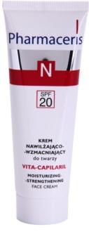 Pharmaceris N-Neocapillaries Vita-Capilaril nawilżająco-wzmacniający krem do twarzy do skóry wrażliwej ze skłonnością do przebarwień