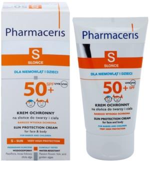Pharmaceris S-Sun creme protetor para crianças SPF 50+