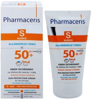Pharmaceris S-Sun ochranný krém pro děti SPF 50+