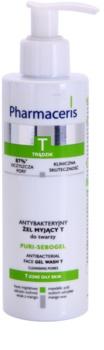 Pharmaceris T-Zone Oily Skin Puri-Sebogel Cleansing Gel for Problematic Skin, Acne