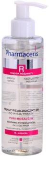Pharmaceris R-Rosacea Puri-Rosalgin beruhigendes Reinigungsgel für empfindliche Haut mit der Neigung zum Erröten