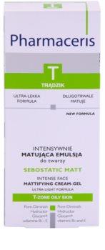 Pharmaceris T-Zone Oily Skin Sebostatic Matt matující emulze pro mastnou pleť se sklonem k akné