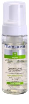 Pharmaceris T-Zone Oily Skin Puri-Sebostatic čisticí pěna pro pleť vysušenou a podrážděnou léčbou akné