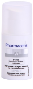 Pharmaceris W-Whitening Acipeel 3x aufhellendes Korrektur Serum gegen Pigmentflecken mit Vitamin C