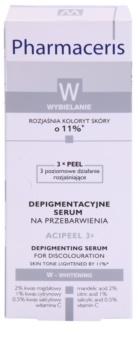 Pharmaceris W-Whitening Acipeel 3x zesvětlující korekční sérum proti pigmentovým skvrnám s vitaminem C