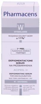 Pharmaceris W-Whitening Acipeel 3x zosvetľujúce korekčné sérum proti pigmentovým škvrnám s vitamínom C