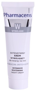 Pharmaceris W-Whitening Albucin-Intesive crema notte intensa per le macchie della pelle