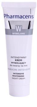 Pharmaceris W-Whitening Albucin-Intesive nočna intenzivna krema za pigmentne madeže