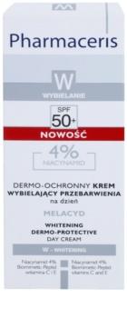 Pharmaceris W-Whitening Melacyd bieliaci krém proti pigmentovým škvrnám