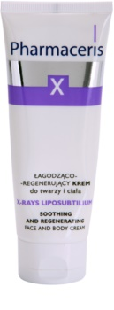 Pharmaceris X-Rays - Skin After Radiotherapy X-Rays Liposubtilium Regenerating and Soothing Cream For Face And Body