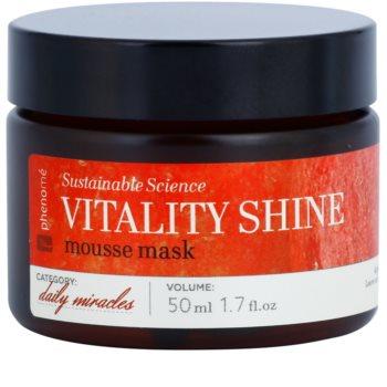 Phenomé Daily Miracles Brightening máscara hidratante em espuma para uma pele radiante