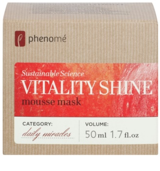 Phenomé Daily Miracles Brightening pěnová hydratační maska pro zářivý vzhled pleti