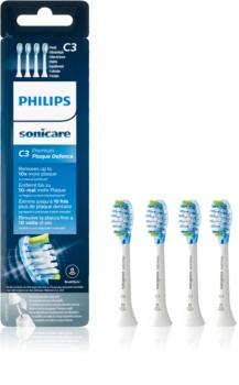 Philips Sonicare Premium Plaque Defense Standard HX9044/17 testine di ricambio per spazzolino 4 pz