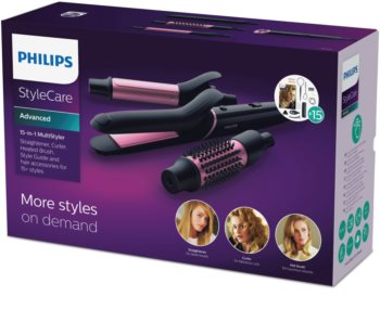 Philips StyleCare Advanced BHH822/00 Haarglätter und Curlingstab 2 in 1