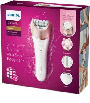 Philips Satinelle BRE652/00 epilator corp si fata