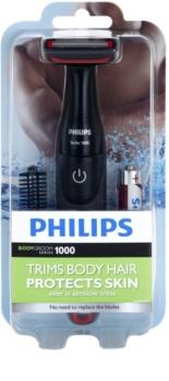 Philips Bodygroom Series 1000 BG105/10 vodoodporni prirezovalnik dlačic na telesu