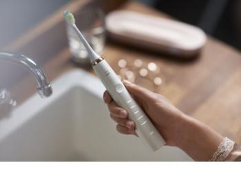 Philips Sonicare DiamondClean HX9312/04 sonična električna četkica za zube s šalicom za punjenje