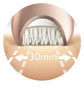 Philips Satinelle Advanced BRE620 epilátor na telo a nohy