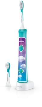 Philips Sonicare For Kids HX6322/04 spazzolino elettrico sonico per bambini con Bluetooth