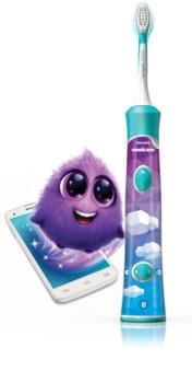 Philips Sonicare For Kids HX6322/04 Elektrische Schallzahnbürste mit Bluetooth-Verbindung für Kinder