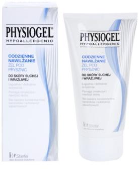 Physiogel daily moisturetherapy gel douche hypoallerg nique pour peaux s ches et sensibles - Gel douche hypoallergenique ...