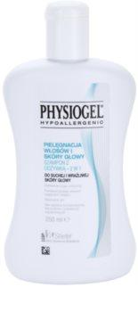 Physiogel Scalp Care šampón a kondicionér 2 v1 pre suchú a citlivú pokožku hlavy