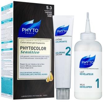 Phyto Color Sensitive перманентна фарба для волосся