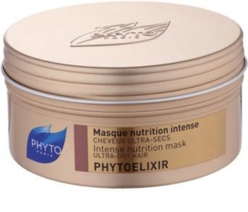 Phyto Phytoelixir intenzíven tápláló maszk a száraz és porózus hajra