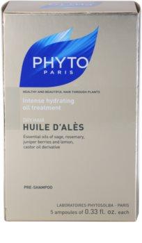 Phyto Huile d'Alès інтенсивна зволожуюча сироватка для сухого волосся