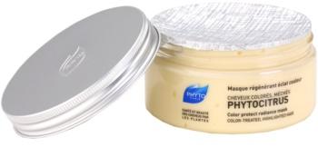 Phyto Phytocitrus освітлююча маска для фарбованого волосся