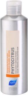 Phyto Phytocitrus rozjasňujúci šampón pre farbené vlasy