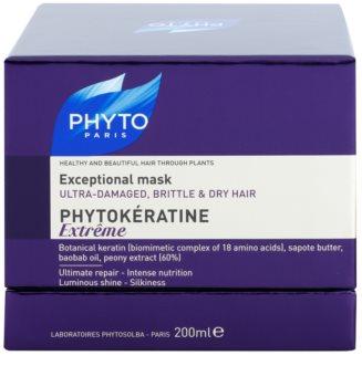 Phyto Phytokératine Extreme regeneráló maszk a sérült és gyenge hajra