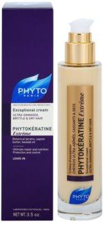 Phyto Phytokératine Extrême Regenerating Cream for Severely Damaged and Brittle Hair