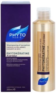 Phyto Phytokératine Extreme megújító sampon nagyon sérült törékeny hajra