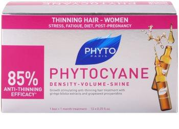 Phyto Phytocyane sérum revitalizante anti-queda capilar