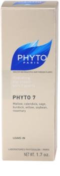 Phyto Phyto 7 vlažilna krema za suhe lase