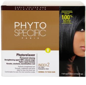 Phyto Specific Phytorelaxer zestaw do prostowania włosów normalnych i grubych